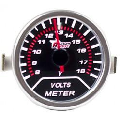 Manómetro de Voltagem de Bateria
